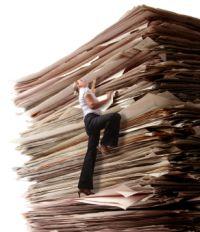 birokratija, papīri, dokumenti