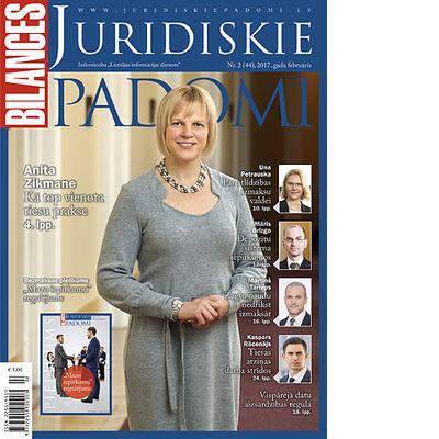 BILANCES JURIDISKIE PADOMI februāra numurā lasiet