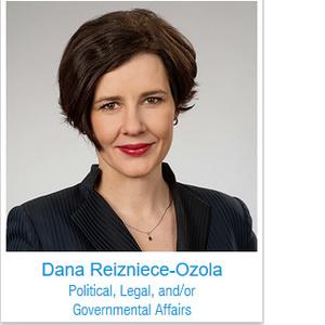 Aicina ar balsojumu atbalstīt finanšu ministri Danu Reiznieci-Ozolu TOYP pasaules pusfinālā