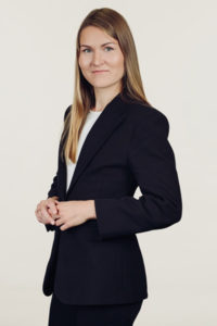 Aina Okseņuka, zvērinātu advokātu biroja Sorainen nodokļu menedžere
