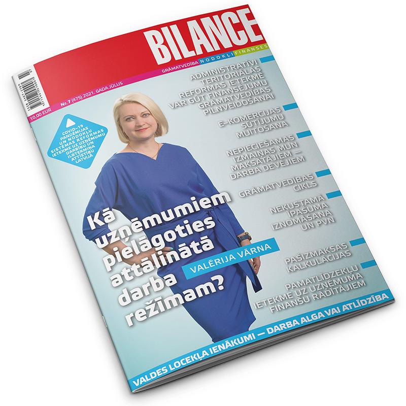 Bilance, 2021. gada jūlijs