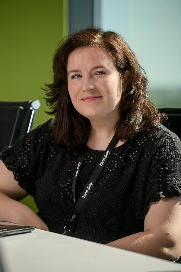 Evita Ozola, TietoEVRY in Latvia finanšu partnere