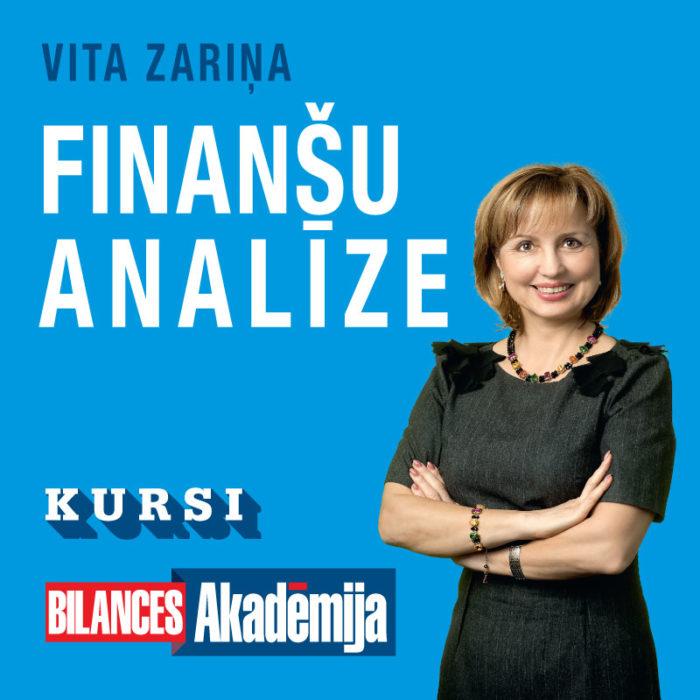 """Kursi """"Finanšu analīze"""" interneta tiešraidē (25.11.2021.-16.12.2021.)"""