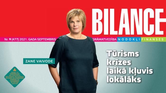 BILANCES septembra numurā lasiet