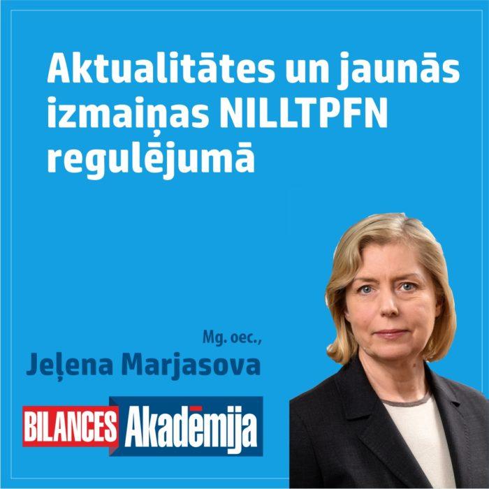 29.10.2021. E-seminārs: Aktualitātes un jaunās izmaiņas NILLTPFN regulējumā